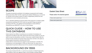 Gasket base article