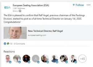 ESA-LinkedIn post