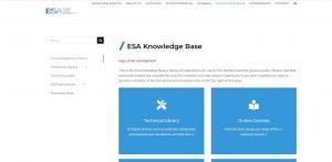 ESA Knowledge base